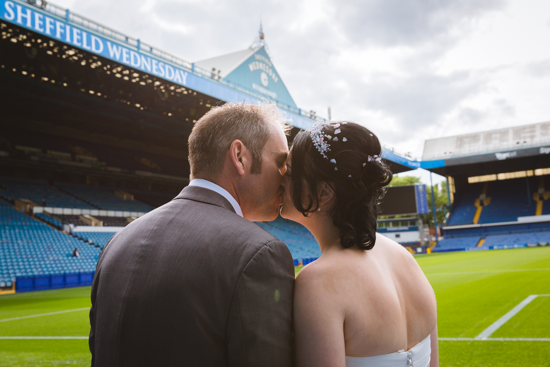 Hillsborough Stadium Wedding Photography